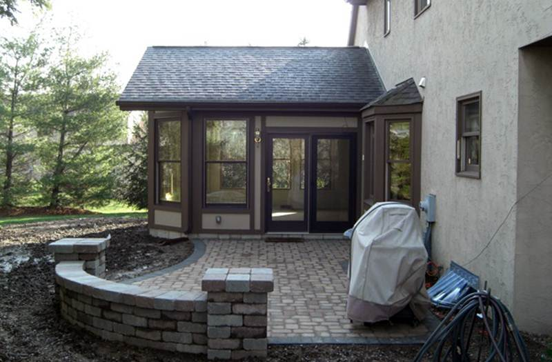 mesmerizing living room addition gable roof | Room Additions Columbus Ohio - Family Room, Bed Room ...