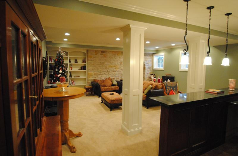 SUNCRAFT Basement Finishing Finished Basements Basement Mesmerizing Basement Remodeling Columbus Ohio