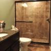 Finished Basement Shower