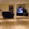 Wood Floor in Finished Basement