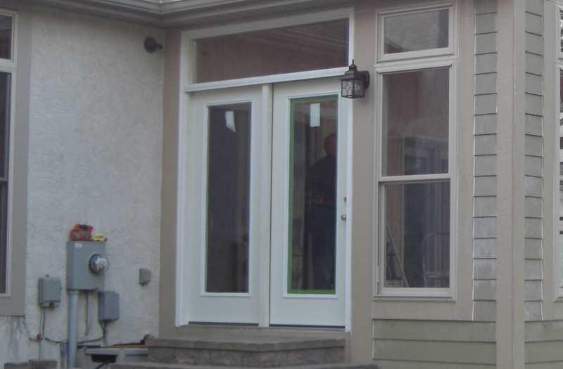 Replace Sliding Door With French Doors Door Replacement Door Installation French Doors Sliding Doors