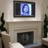 TV Fireplace Install
