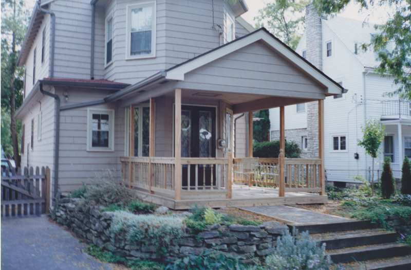 mesmerizing living room addition gable roof | Front Porch Builder, Porch Addition, Portico, Open Porch ...