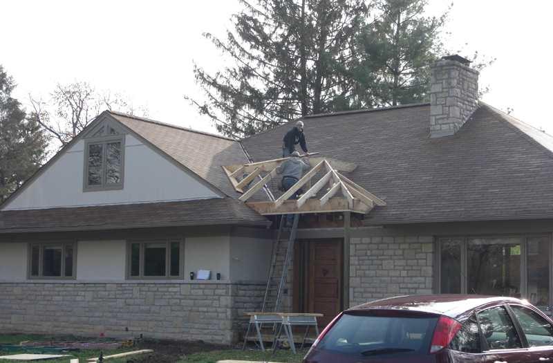 Front Porch Builder Porch Addition Portico Open Porch