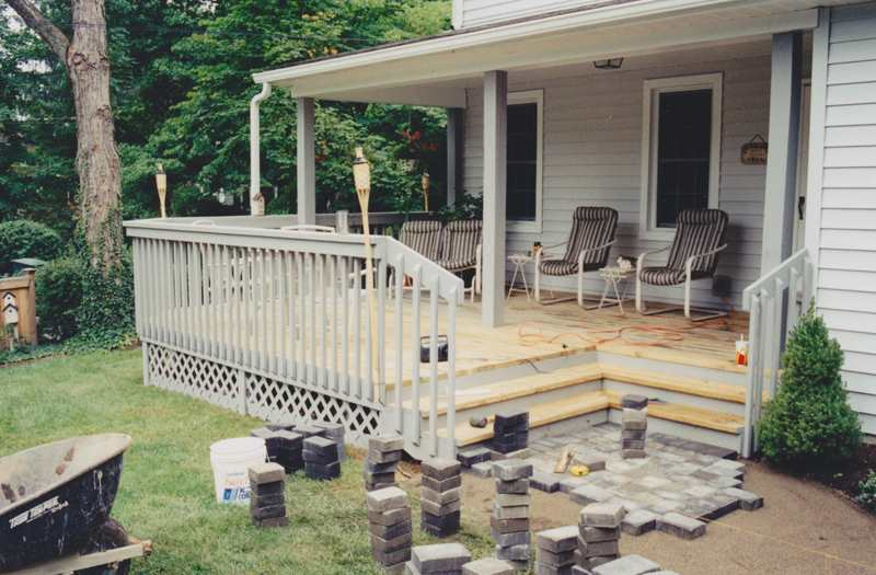 Front Porch Builder Porch Addition Portico Open Porch