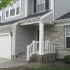 porch built to match home