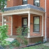 Porch on Brick Home