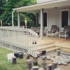 Extended Porch with Patio